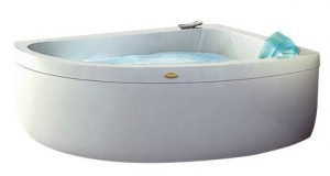Jacuzzi Aquasoul Offset Hydro Base ванна