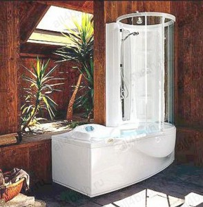 JACUZZI J-Sha Active Twin 9H48-179 ванна комбинированная с кабиной